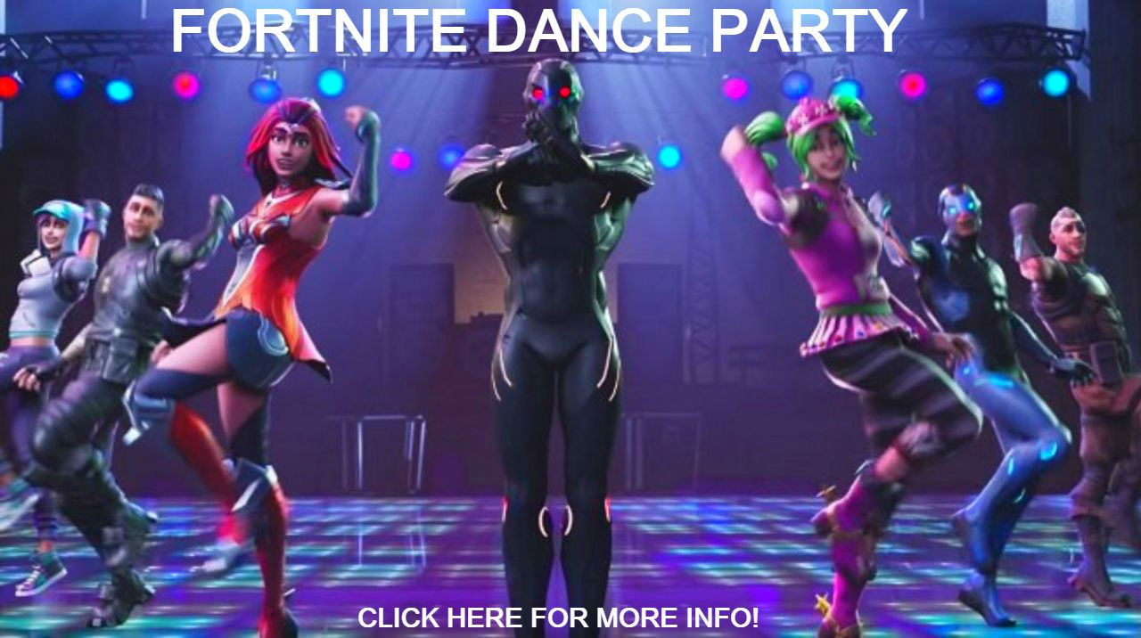 Fortnite Dance Party