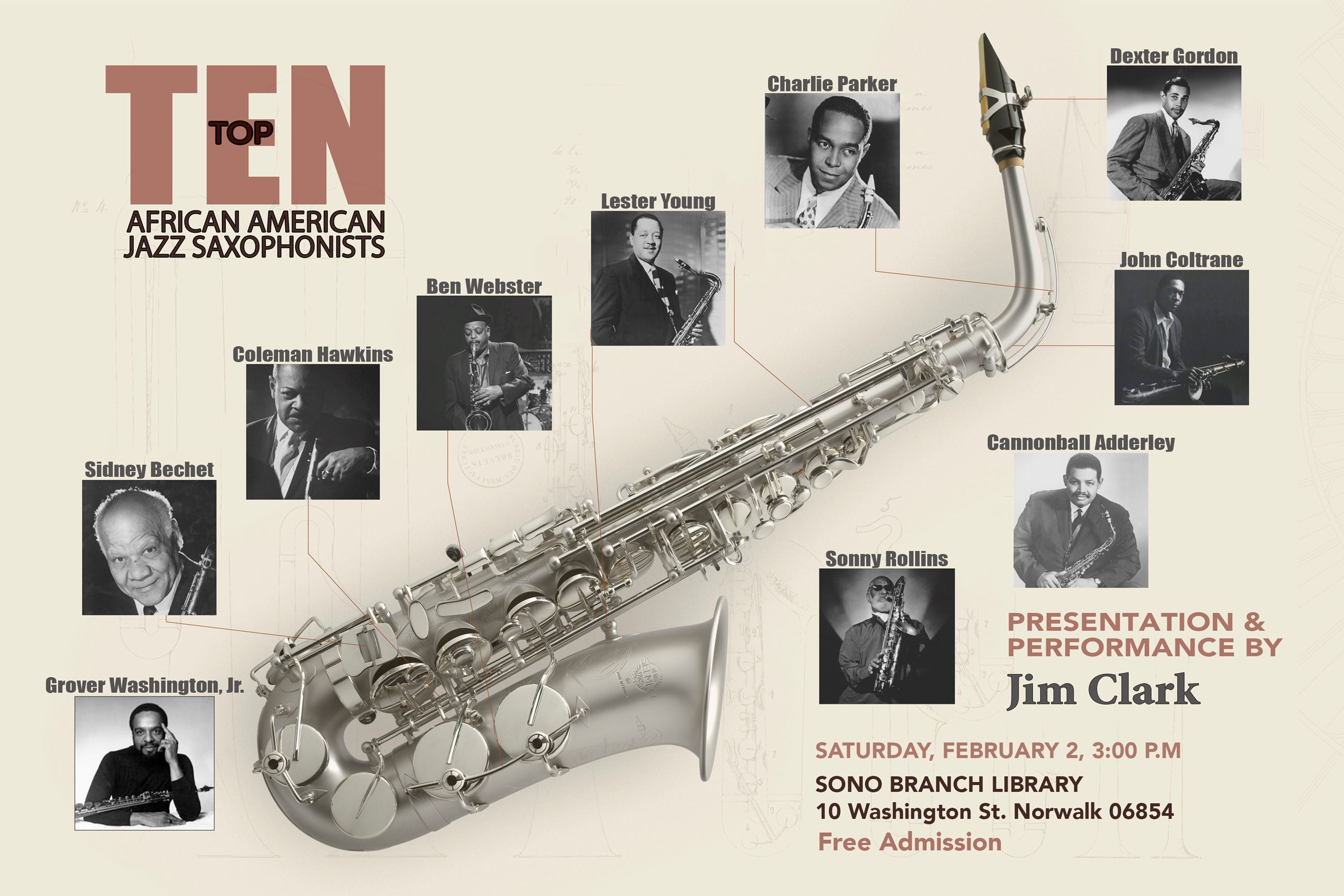 Top Ten African American Jazz Saxophonists