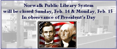 NPL closed for Presidents's Day