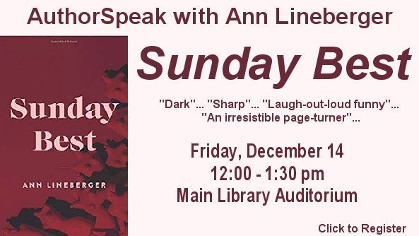 Authorspeak Ann Lineberger Sunday Best