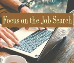 focus on the job search